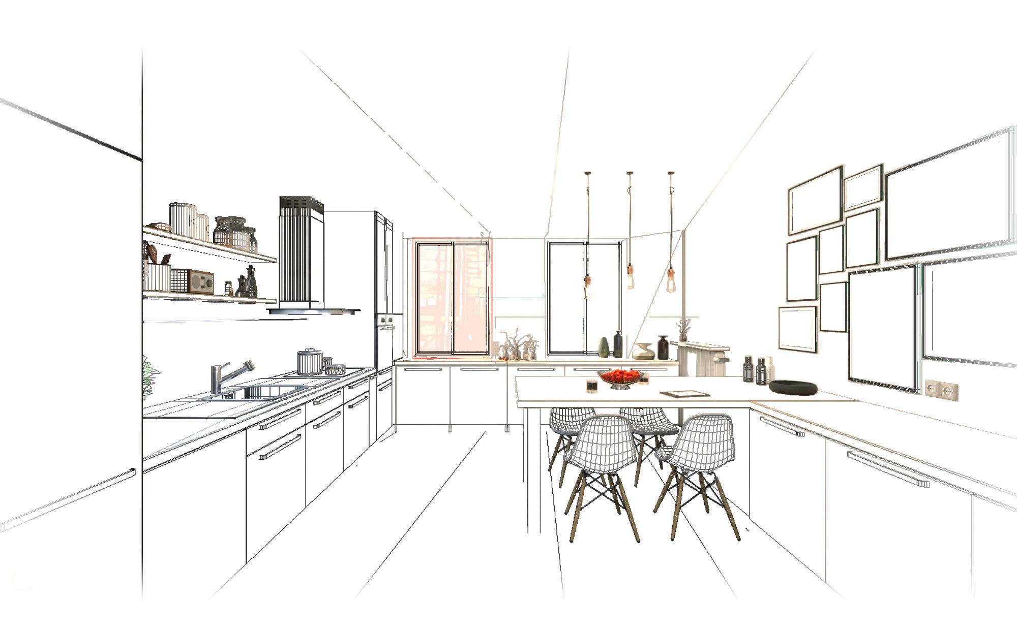 cuisine-mesh-3d-render
